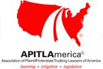 Association of Plaintiff Interstate Trucking Lawyers of America - Award