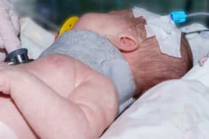 baby have injury on his head while birth