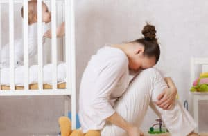 woman is facing some problem after her pregnancy - postpartum complications Attorney